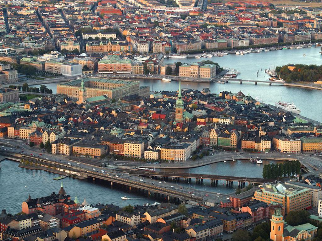 ストックホルム(スウェーデン) 壁紙 - Stockholm, Sweden WALLPAPER