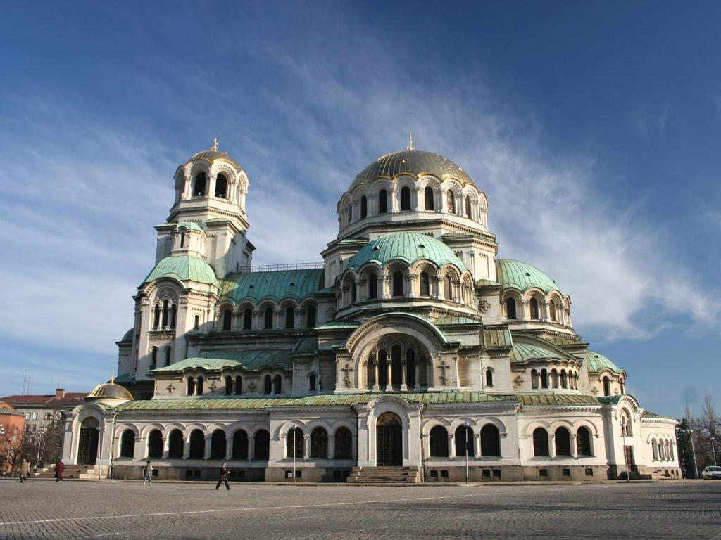 ソフィア アレクサンドル・ネフスキー寺院(ブルガリア) 壁紙 - Sofia, Bulgaria WALLPAPER