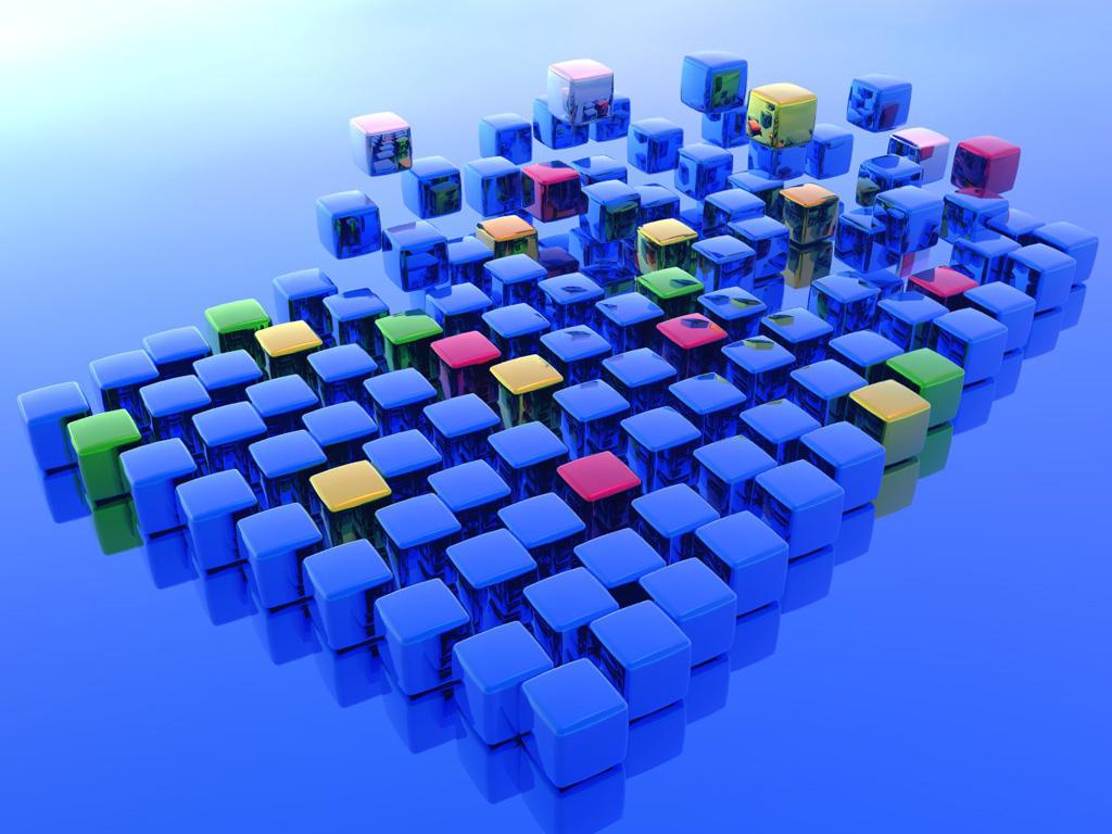 キューブCG 壁紙 - Cube WALLPAPER