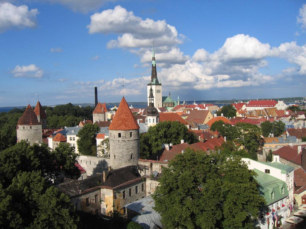 タリン(エストニア) 壁紙 - Tallinn, Estonia WALLPAPER