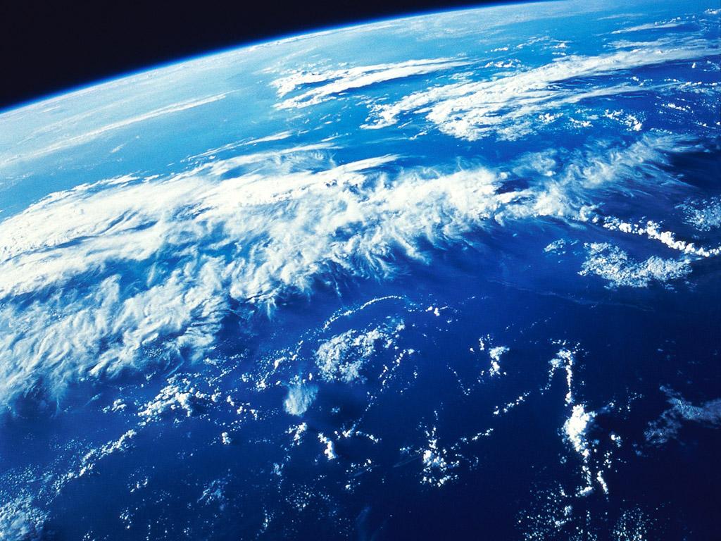 宇宙から見た地球 壁紙 - The Earth WALLPAPER