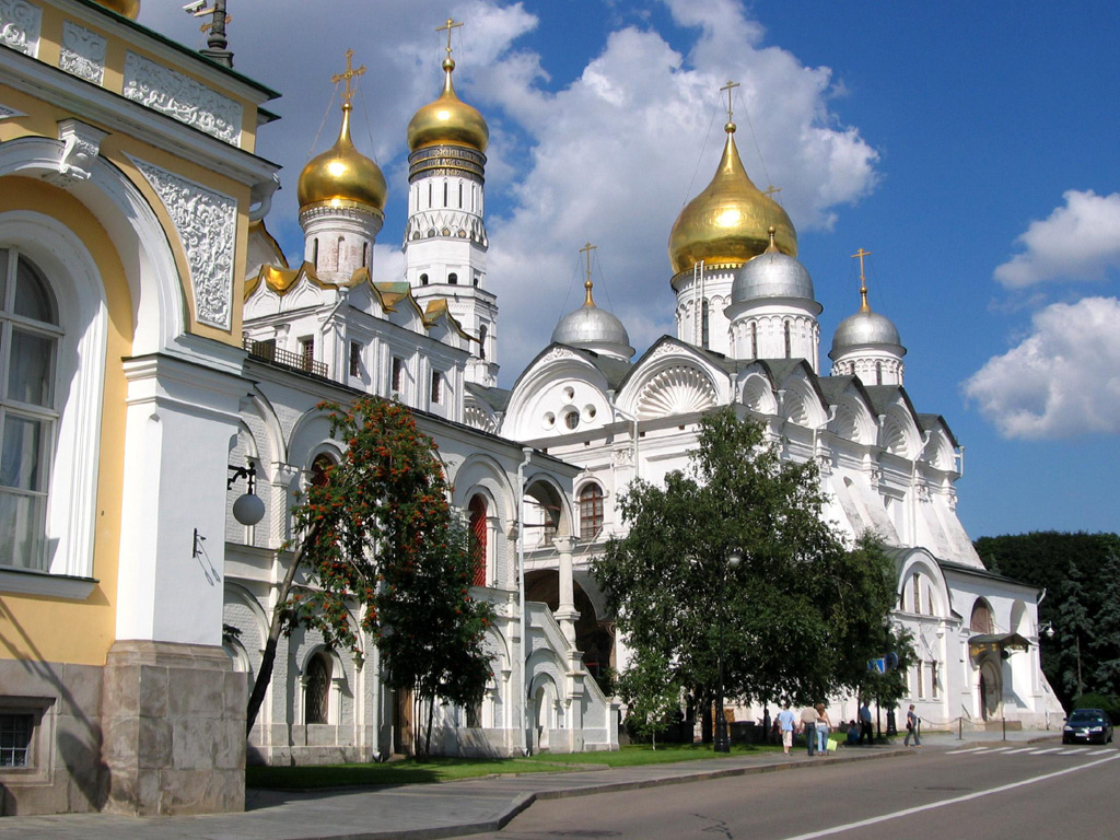 モスクワ(ロシア) 壁紙 - Moscow, Russia WALLPAPER