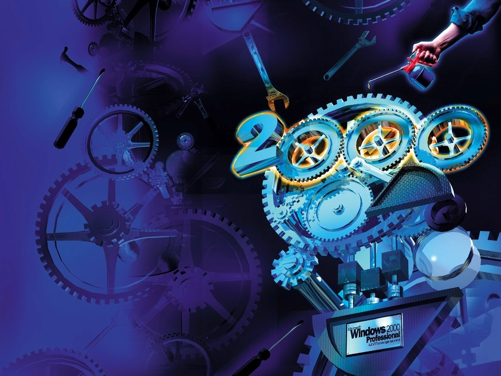 ウィンドウズ2000プロフェッショナル 壁紙 - Windows2000 Professional WALLPAPER