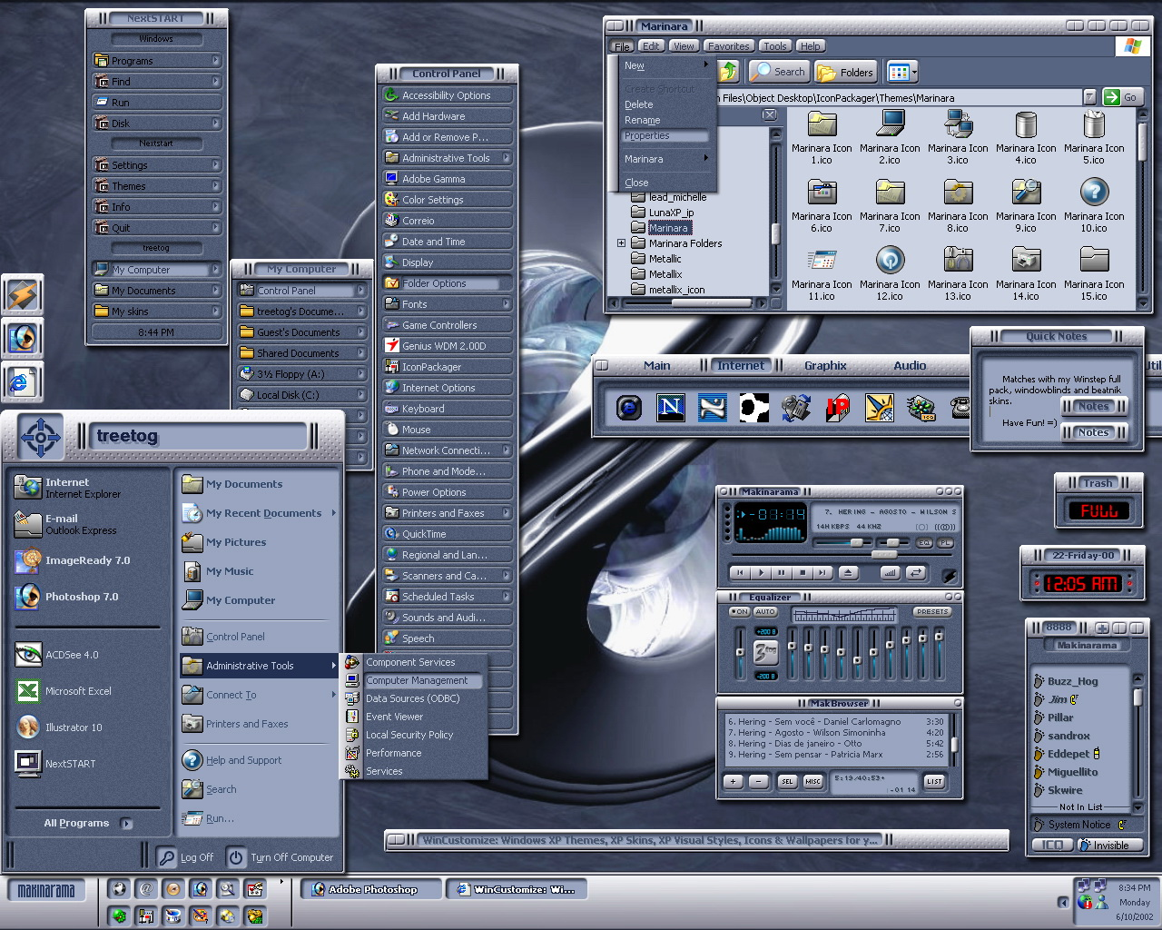 デスクトップ 壁紙 - Skin WALLPAPER