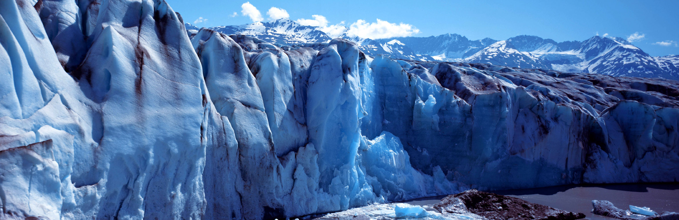 パタゴニア グレイ氷河(チリ) 壁紙 - Gray Glacier, Patagonia, Chile WALLPAPER