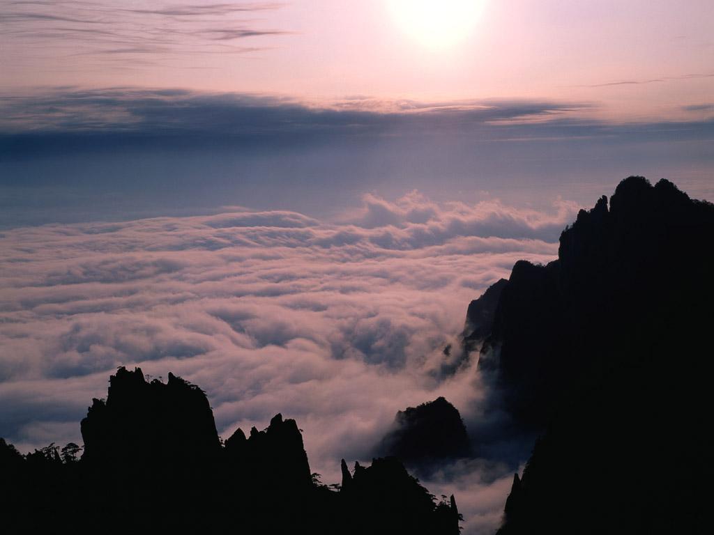 雲海 壁紙 - Sea of Clouds WALLPAPER