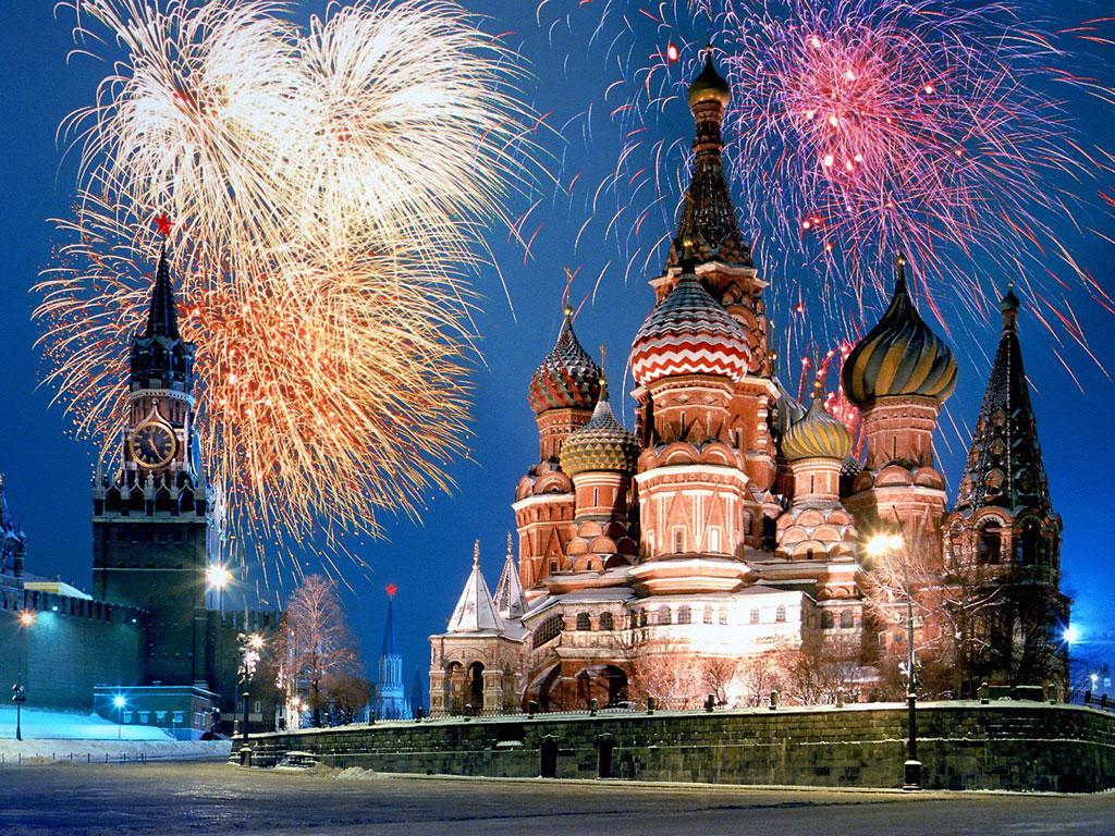 モスクワ クレムリン聖ワシーリー寺院(ロシア) 壁紙 - Saint Basil's Cathedral, Moscow, Russia WALLPAPER