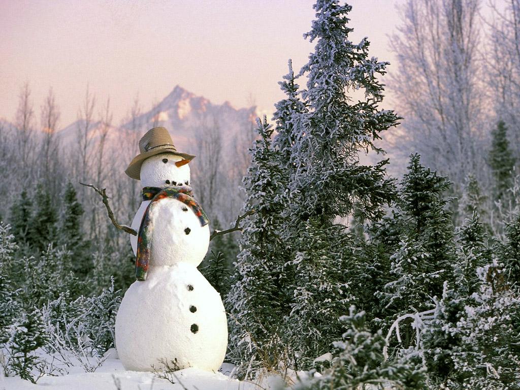 雪だるま 壁紙 - Snowman WALLPAPER