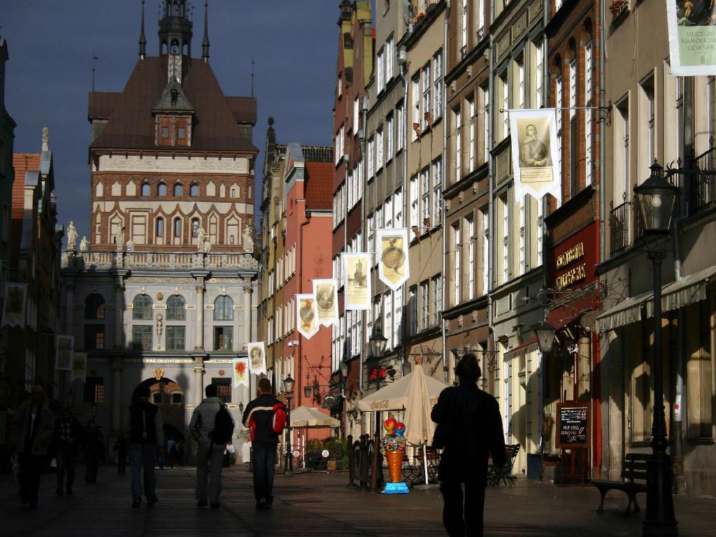 グダンスク(ポーランド) 壁紙 - Gdansk, Poland WALLPAPER