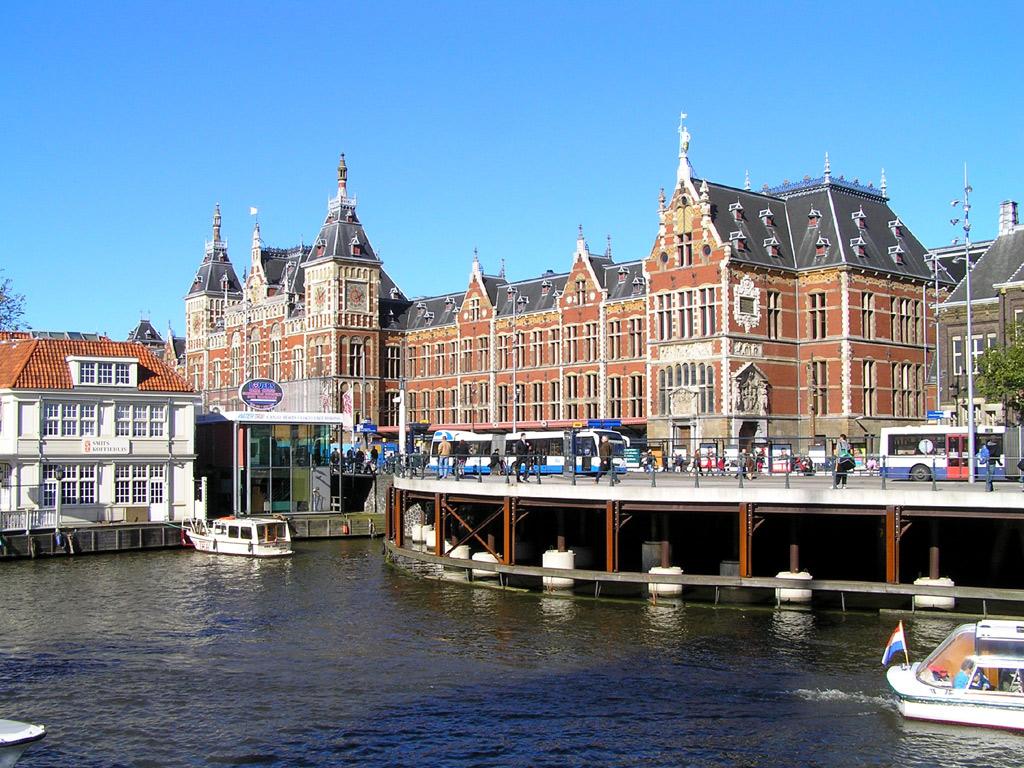 アムステルダム(オランダ) 壁紙 - Amsterdam, The Netherlands WALLPAPER