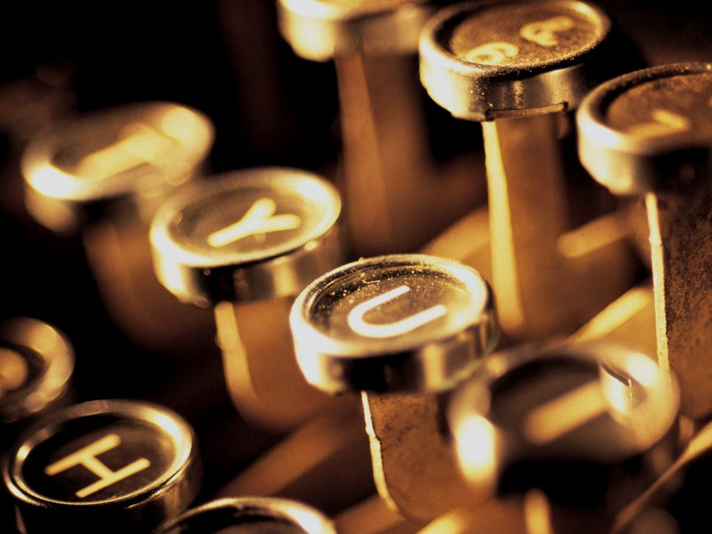 タイプライター 壁紙 - Typewriter WALLPAPER