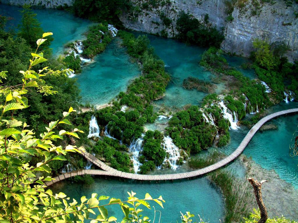 プリトビチェ湖群国立公園(クロアチア) 壁紙 - Plitvice, Croatia WALLPAPER