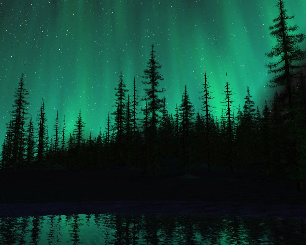 オーロラ 壁紙 - Aurora WALLPAPER
