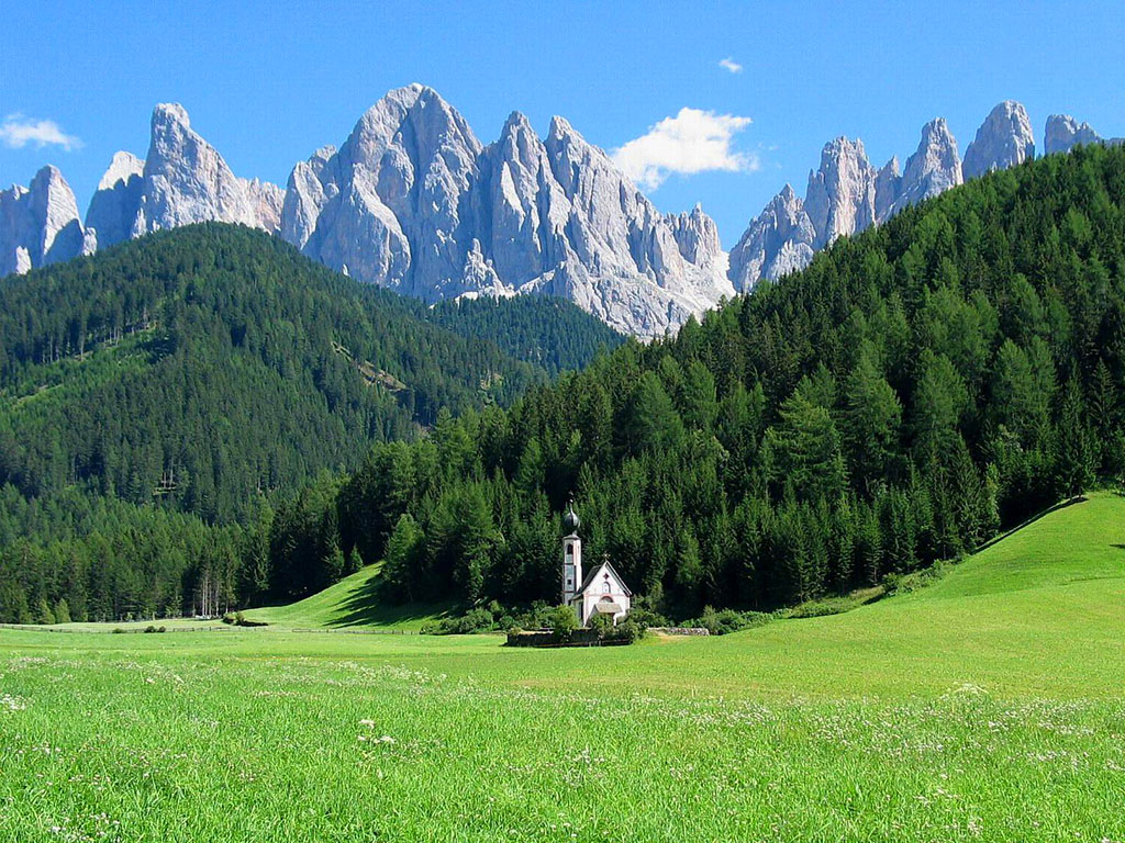 ドロミテ(イタリア) 壁紙 - Dolomites, Italy WALLPAPER