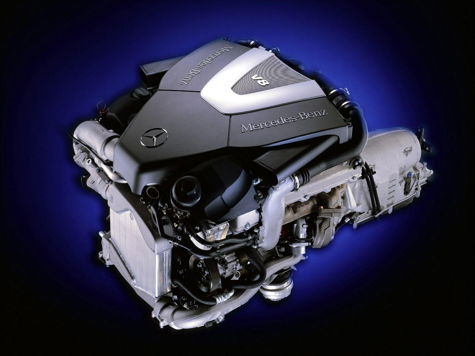 メルセデス8気筒エンジン 壁紙 - MERCEDES-BENZ V8 WALLPAPER
