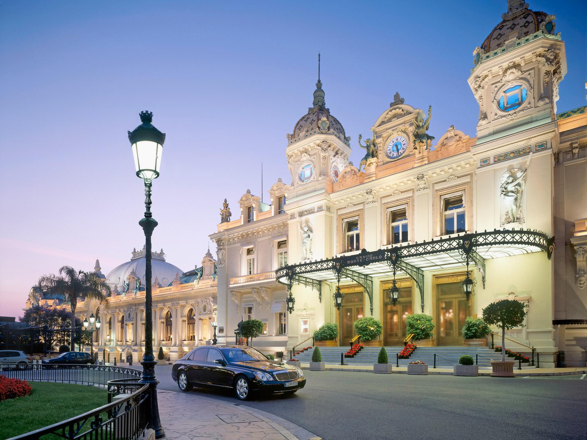 モンテ・カルロ(モナコ) 壁紙 - Monte-Carlo, Monaco WALLPAPER