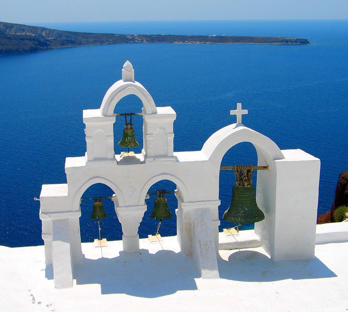 サントリーニ島(ギリシャ) 壁紙 - Santorini, Greece WALLPAPER