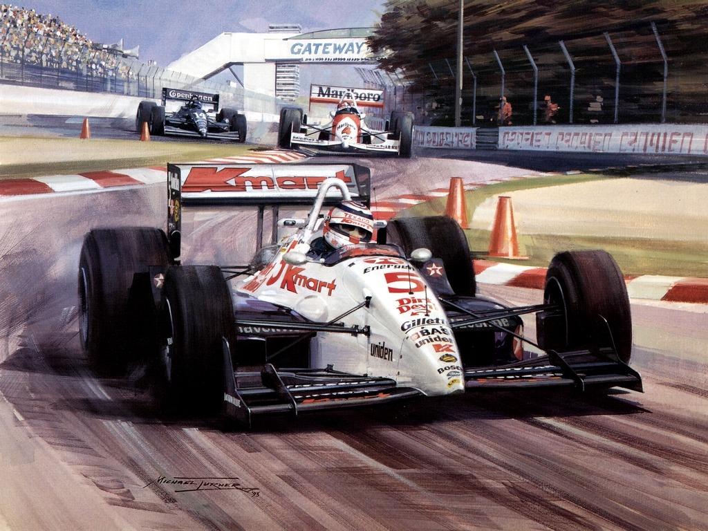 ナイジェル・マンセル 壁紙 - Nigel Mansell WALLPAPER