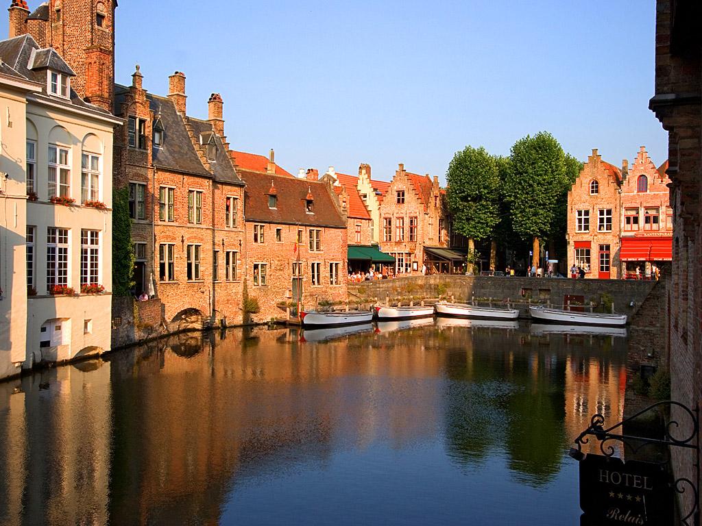 ブルージュ(ベルギー) 壁紙 - Bruges, Belgium WALLPAPER