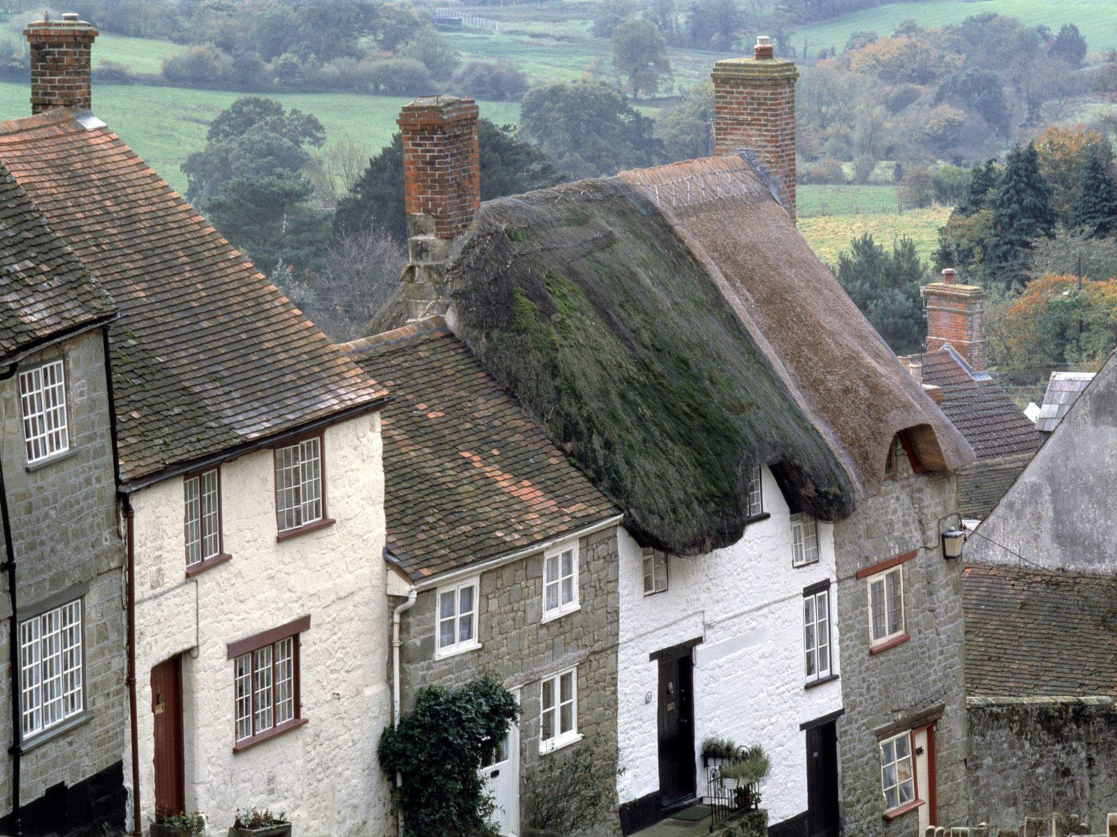 シャフツベリー(イギリス) 壁紙 - Shaftsbury, Dorset, UK WALLPAPER