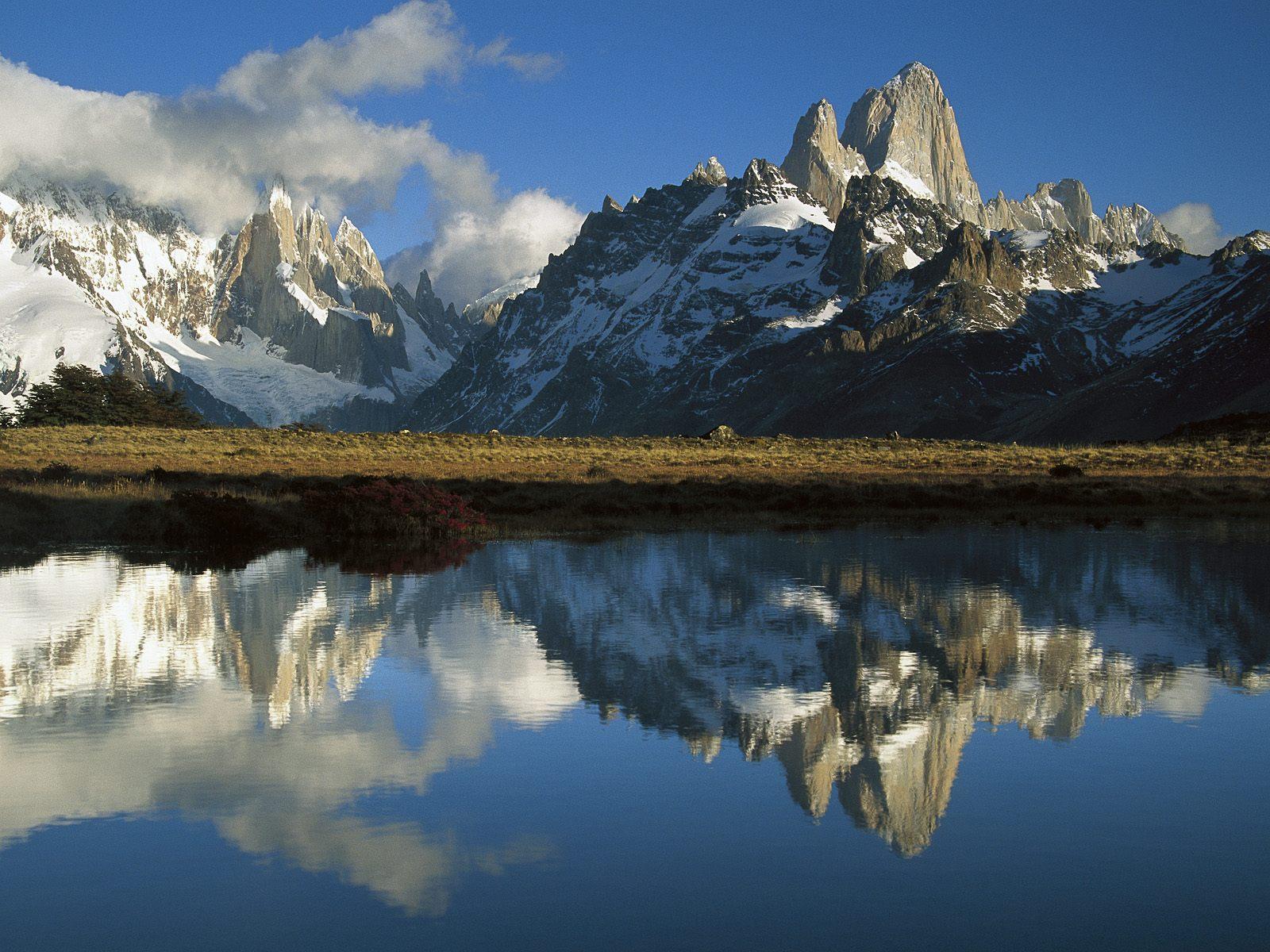 ロス・ グラシアレス国立公園(アルゼンチン) 壁紙 - Los Glaciares National Park, Patagonia, Argentina WALLPAPER