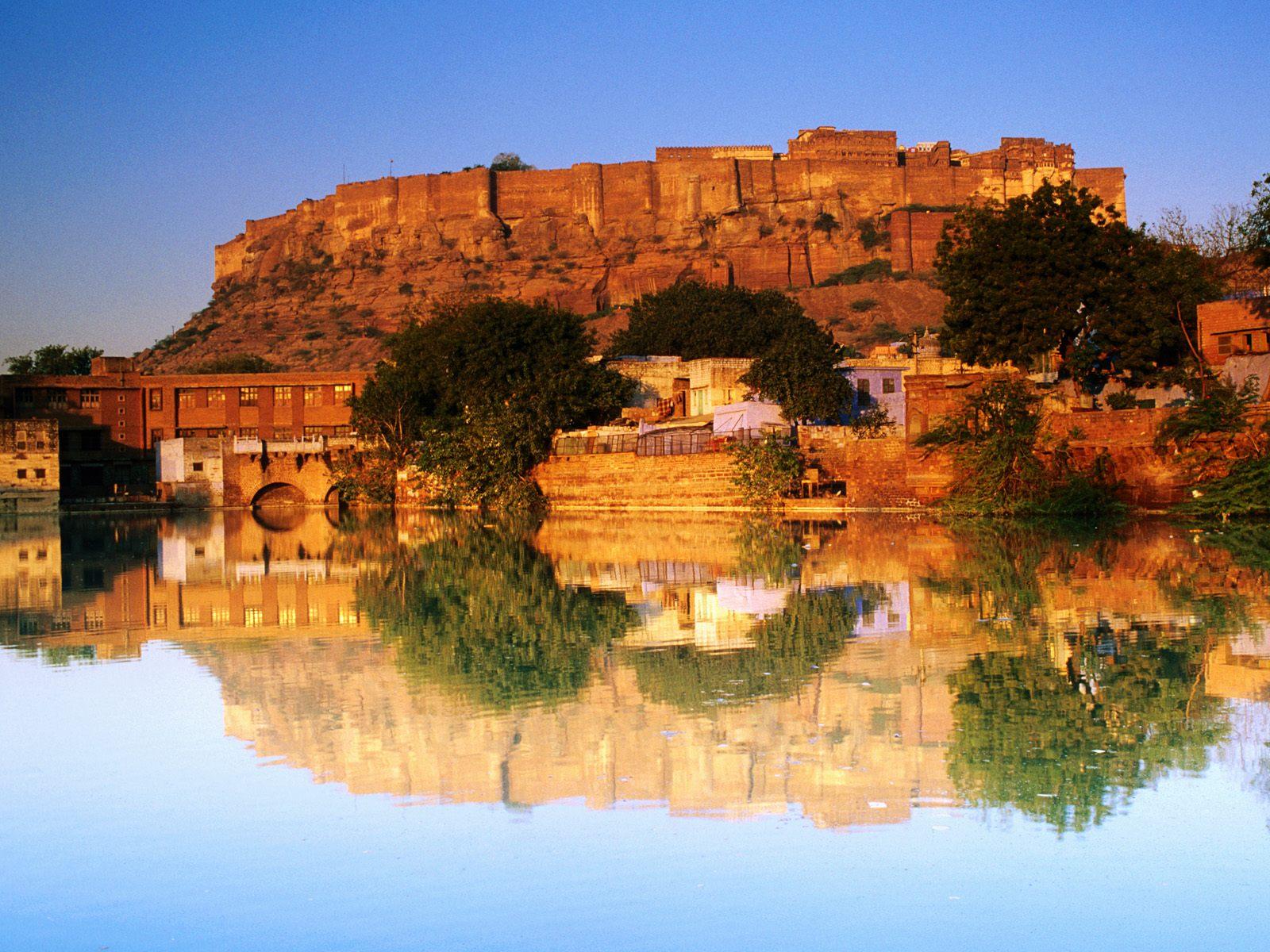 ジョドプール(インド) 壁紙 - Jodhpur, Rajasthan, India WALLPAPER