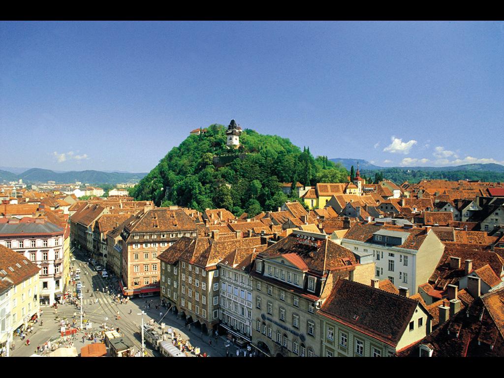 グラーツ(オーストリア) 壁紙 - Graz, Austria WALLPAPER